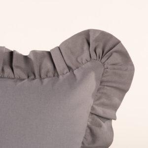 Federa cuscino da arredamento con galetta