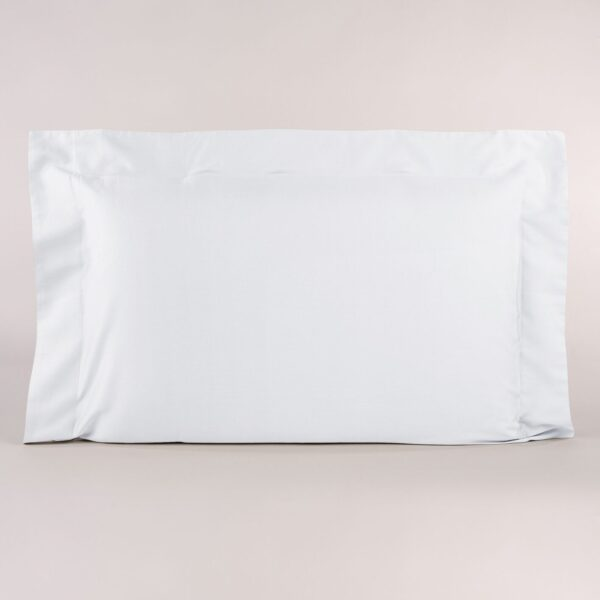 Federa Per Guanciale Loft In Raso Di Cotone Bianco