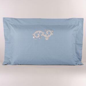 Federa cuscino letto avio con ricamo