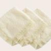 Set di asciugamanini per ospiti spugna e merletto